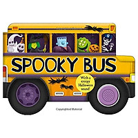 Spooky Bus: With a Creepy Halloween Sound (Shaped Board Books)