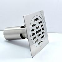 Ga thoát sàn ngăn mùi inox 304 mặt gương cao cấp Hiwin FD-4210