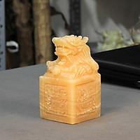 Ân Rồng Phong Thủy Ngọc Hoàng Long Roxi 12cm - MS002
