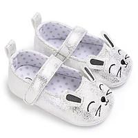 Giày tập đi búp bê cho bé gái 0-18 tháng hình thỏ đáng yêu – TD18