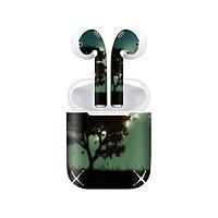 Miếng dán skin chống bẩn cho tai nghe AirPods in hình thiết kế - atk386 (bản không dây 1 và 2)