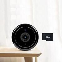 Camera Hành Trình Mini chống trộm, ghi hình Full HD 1080P, Wifi, Hỗ Trợ Ban Đêm