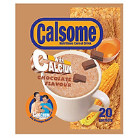 Bột ngũ cốc dinh dưỡng Calsome hương Sô cô la