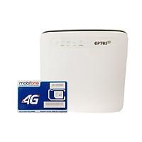 Bộ phát wifi 4G Huawei E5186 tốc độ 300Mbps + Sim 4G Mobifone Khuyến Mãi 60GB /Tháng - Hàng nhập khẩu