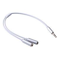 Cáp Chia Audio Ugreen 3.5mm Ra 2 Cổng 3.5mm 10780 - Hàng Chính Hãng