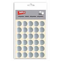 APLI_Sticker Tròn Bạc Ø20_11809