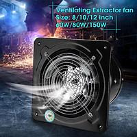 25~750W Industrial Ventilation Extractor Metal Axial Exhaust Fan Commercial Air Blower Fan