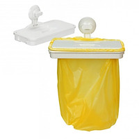 Kệ Đựng Rác Treo Tủ Bếp Đa Năng HIRO INOCHI PLUS Thông Minh Dùng Đựng rác và đồ nhà bếp KE015