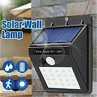 20 LED Solar Powered Wall Light Motion Sensor Lights Outdoor Garden Security Lamp Interior Design
