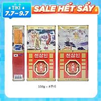 Hồng Sâm Củ Khô Hàn Quốc BIO 150 gam 8 củ