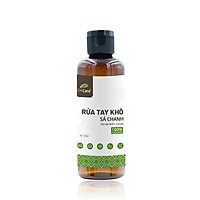 Gel rửa tay khô tinh dầu Sả Chanh 24Care 100ML – kết hợp tinh dầu tràm trà, diệt khuẩn 99,9%