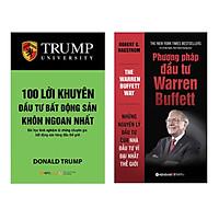 Combo 100 Lời Khuyên Đầu Tư Bất Động Sản Khôn Ngoan Nhất (Tái Bản 2018) + Phương Pháp Đầu Tư Warren Buffett (Tái Bản 2018)(2 Cuốn)