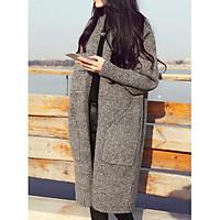 Áo khoác len cardigan dáng dài cho Quý cô - AG67