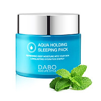 Mặt nạ ngủ cấp nước trị xạm da Cao cấp Hàn quốc Dabo Aqua Holding Sleeping Pack Hàn Quốc ( 80ml) - Hàn Quốc Chính Hãng