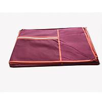 Phụ kiện tủ vải: Vỏ( áo chụp ngoài) dùng cho tủ vải quần áo( không kèm theo khung sắt và khớp nối)- Màu đỏ đô