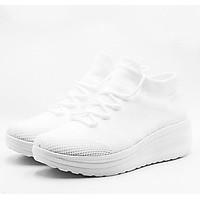 Sneaker nữ siêu nhẹ đế cao - SMG Sporty High Flex X