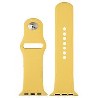 Dây đeo silicon dẻo 1 màu dành cho Apple Watch 42/44 (sản phẩm có 8 màu) - Hàng Chính Hãng
