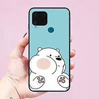 Ốp lưng dành cho điện thoại Realme C15 hình Chú Gấu Cute