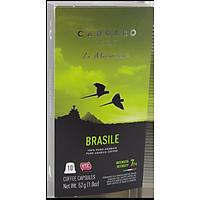 [Bao bì mới] Cà phê viên nén Carraro Single Origin Brasile