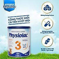 Sữa bột Physiolac 3 400g (Bổ sung DHA)