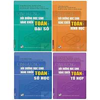 Combo 4 cuốn sách Định hướng bồi dưỡng học sinh năng khiếu Toán (tập 1 + tập 2 + tập 3 + tập 4)