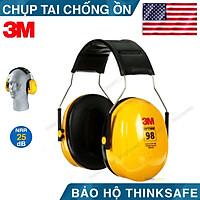 Chụp tai chống ồn 3M H9A, độ giảm ồn 25db bảo vệ tai hiệu quả