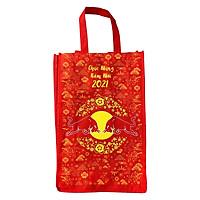 Túi vải đựng đồ cao cấp kích thước 40x30x12cm tiện dụng , thân thiện môi trường ,dễ dàng sử dụng, gấp gọn khi không dùng
