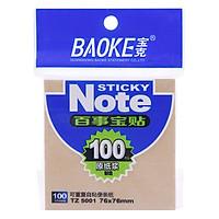 Giấy Note 3 x 3 TZ5001 Nhất Trường (100 Tờ)