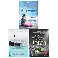 Combo : Thức Tỉnh Tâm Linh (3 Cuốn): Cởi Trói Linh Hồn  + Dưới Ánh Sáng Của Thiền + Thiền Định Thiết Thực - Cho Sự Bình An Của Tâm Hồn (Mới)