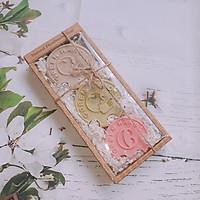 Hộp 3 xà phòng handmade FINGER NHÀU - TRÀ XANH - ĐẤT SÉT ( FINGER SOAP COMBO )