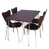 Bộ bàn ăn Cao Cấp Xuất Khẩu 4 ghế alala.vn – Thương hiệu alala.vn