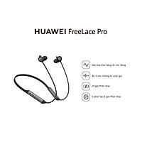 Tai Nghe Huawei Freelace Pro | Mic Kép Chống Ồn Chủ Động | Chế Độ Nhận Dạng Môi Trường Xung Quanh | Kêt Nối Với Thế Giới | Driver 14mm Âm Thanh Mạnh Mẽ | Hàng Chính Hãng - Đen Khói