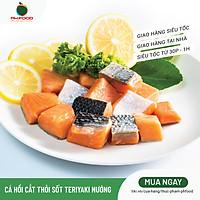 [Chỉ giao HN] - Cá Hồi Cắt Thỏi Sốt Teriyaki Nướng - 300g - Có Vừng