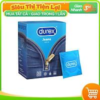 Bao cao su Durex Jeans Hộp 30 bao