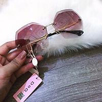 kính mát nữ mắt khoan ( màu hồng)
