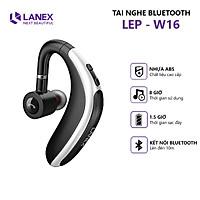 Tai Nghe Bluetooth 1 Bên LANEX LEP - W16 V5.0 Có Hỗ Trợ  Mic - Tương Thích Nhiều Thiết Bị - Kiểu Dáng Nam Tính - Hàng Nhập Khẩu