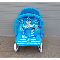 Ghế rung đa năng màu xanh hình ngẫu nhiên