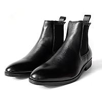 Giày Chelsea Boot Da Bò Thật TEFOSS HT650 Cổ Cao Thời Trang size 38-43