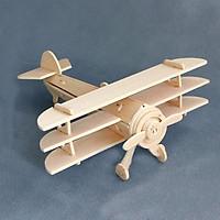 Bộ xếp hình 3D bằng gỗ