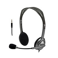 Logitech H111 Multifunctional Head-mounted Wired Stereo Headset with Noise Reduction Microphone for Voice Call Web