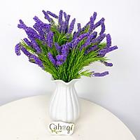 combo 5 Chùm Hoa Giả Lavender Xốp Siêu Đẹp 45 Cm