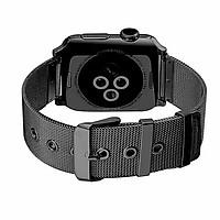 Dây đồng hồ Apple Watch, Dây Mloop lưới thép không gỉ cho Apple Watch - Khuy cài sang trọng
