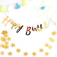 Dây chữ Happy Birthday nét kiểu