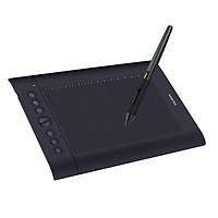 Bảng vẽ đồ họa chuyên nghiệp máy tính bảng chữ ký với 8 phím Express 16 phím mềm Huion H610 Pro V2 10x6.25 Inch Professional Graphics Drawing