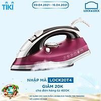Bàn Ủi Hơi Nước Lock&Lock ENI331RED (2200W) - Đỏ - Hàng Chính Hãng
