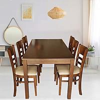 Bộ Bàn ăn 6 ghế phong cách Hàn Quốc - Perfect B105