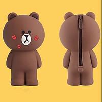 Hộp bút Gấu Brown Kiss
