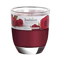 Ly nến thơm Bolsius Velvet Rose BOL7747 295g (Hương hoa hồng)