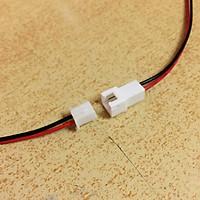 Cặp dây nối đực cái Jack 2P XH2.54mm dành để chế tạo pin sạc