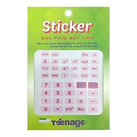 Sticker Decal Bàn Phím Máy Tính CSX005